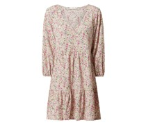 Kleid mit Volantsaum Modell 'Pati'