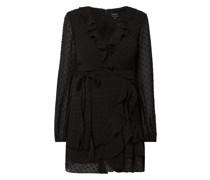 Kleid mit Punktmuster Modell 'Triple'