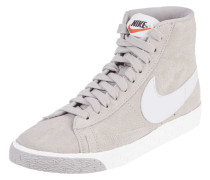 High Top Sneaker 'Blazer Mid' aus Veloursleder