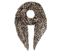 Tuch aus Modal mit Leopardenmuster