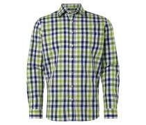 Basic Fit Freizeithemd im Trachten-Look