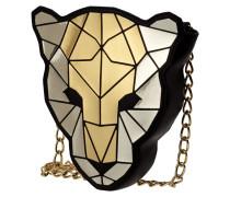 Crossbody Bag in Leopardenkopfform