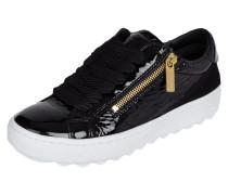 Sneaker aus Lackleder