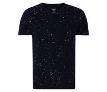 T-Shirt mit dekorativen Farbklecksen
