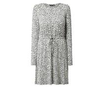 Kleid mit Animal-Print Modell 'Elysa'