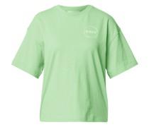 T-Shirt aus Baumwolle mit Label-Print