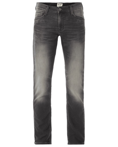 Stone Washed Slim Tapered Fit Jeans