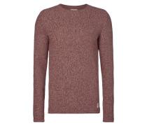 Pullover aus reiner Baumwolle - meliert