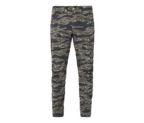 Tapered Fit Hose mit Camouflage-Muster