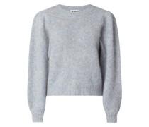 Pullover mit langen Puffärmeln Modell 'Girona'