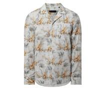 Regular Fit Freizeithemd aus Baumwolle Modell 'Mauri'