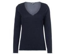 Pullover mit Nähten im Inside-Out-Look