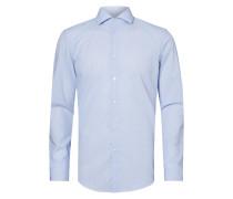Slim Fit Business-Hemd mit Streifen-Dessin