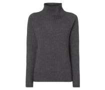 Boxy Fit Pullover mit Turtleneck