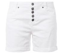 Coloured Jeansshorts mit Knopfleiste