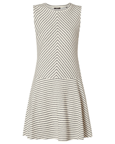 Kleid mit Streifenmuster