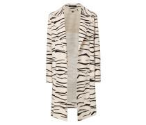 Mantel mit Zebramuster