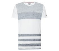T-Shirt mit Inside-Out-Streifenmuster