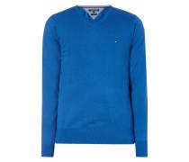 Pullover mit Seide-Anteil
