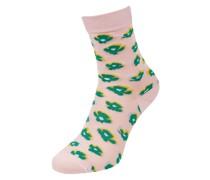 Socken mit Allover-Muster Modell 'Amapola Funkie'