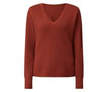 Pullover mit V-Ausschnitt Modell 'Chassa'