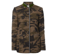 Janker mit Camouflage-Muster