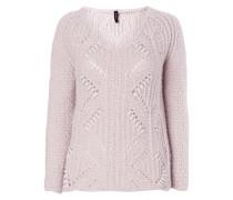 Pullover mit eingearbeitetem Kontrastgarn