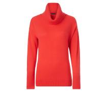 Rollkragen-Pullover mit Kaschmir-Anteil