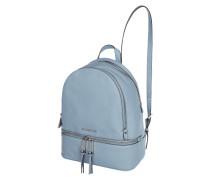 Rucksack aus Leder mit Laptopfach