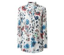 Blusenshirt aus Viskose Modell 'Soffiato'