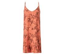 Strandkleid aus Baumwoll-Leinen-Mix Modell 'Pirae Marcala'