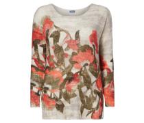 PLUS SIZE - Pullover mit floralem Print