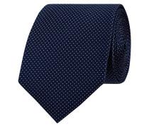 Krawatte mit Tupfen-Dessin