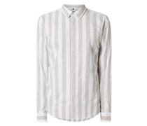 Slim Fit Freizeithemd aus Oxford Modell 'Ole'