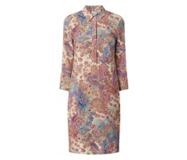 Kleid mit Paisley-Muster Modell 'Cidanielo'