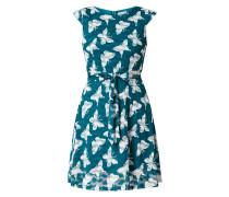 Kleid aus Spitze mit Schmetterlingsmuster