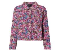 Jacke mit floralem Muster Modell 'Electra'