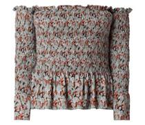 Off-Shoulder-Blusenshirt aus Viskose
