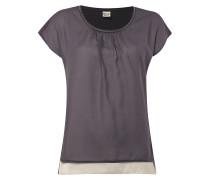 Shirt mit Kontrastvorderseite