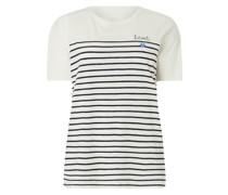 PLUS SIZE T-Shirt mit Streifenmuster