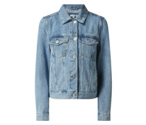 Jeansjacke aus Baumwolle