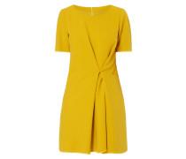 Kleid mit fixierter Drapierung
