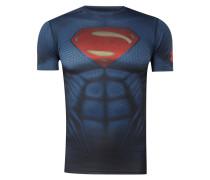 Compression Fit Funktionsshirt mit Superman-Print