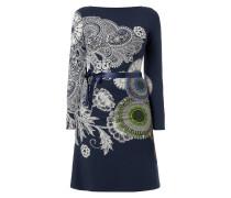 Kleid mit ornamentalem Muster und Ziersteinen