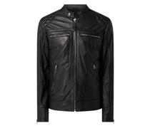 Biker-Jacke aus Lammleder Modell 'Spyder'
