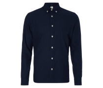Regular Fit Freizeithemd mit Button-Down-Kragen