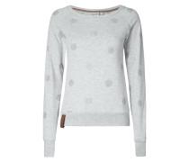 Sweatshirt mit Punktemuster