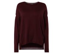 Pullover aus Wolle mit Effekt-Garn