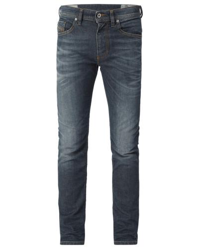 Old Blue Washed Slim-Skinny Fit Jeans
