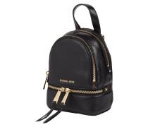 2-in1-Rucksack aus echtem Leder